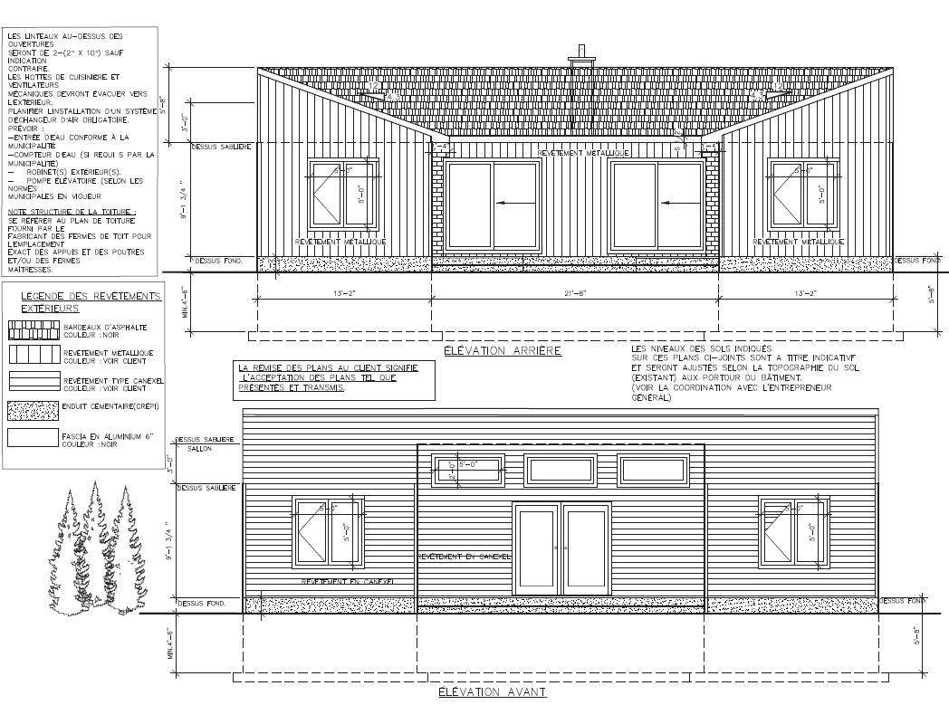 maison plain pied -PlanMDesign